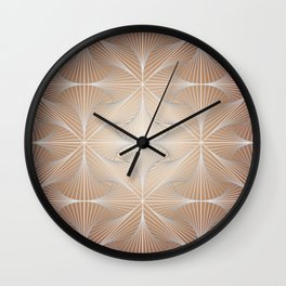 Soft pattern Wall Clock