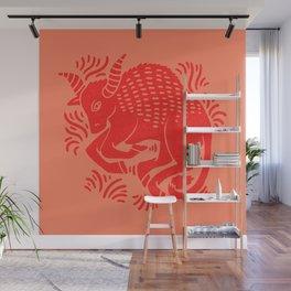 taurus zodiac Wall Mural