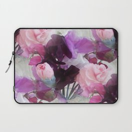 Sweet Peas & Carnations. Laptop Sleeve