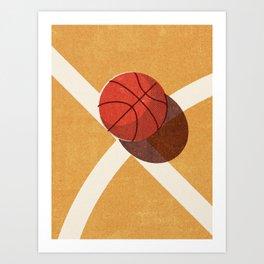 BALLS / Basketball (Indoor) Art Print
