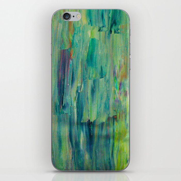 Abstract Painting 30 iPhone Skin