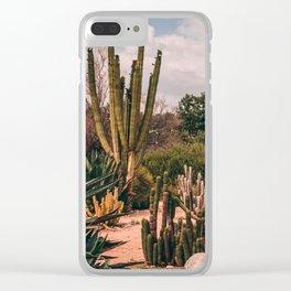 Cactus_0012 Clear iPhone Case