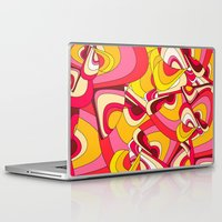 psychadelic Laptop & iPad Skins featuring o emilio by Norma Lindsay