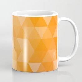 geometric 00 orange Coffee Mug