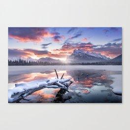 Banff Sunrise Canvas Print