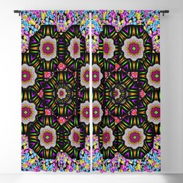 decorative ornate candy with soft candle light for peace Blackout Curtain