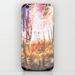 This is only Temporary by Debbie Porter iPhone Skin