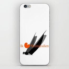 Ik hou van Skûtsjesilen iPhone Skin