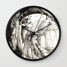 Coming of age Wall Clock