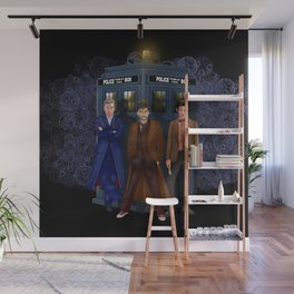 The best regeneration of Doctor who Wall Mural