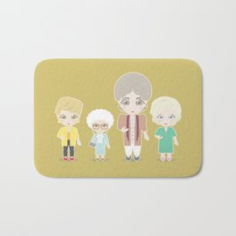 Girls in their Golden Years Bath Mat