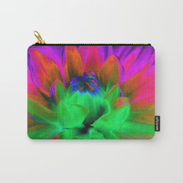 Solarized Begonia Carry-All Pouch