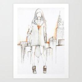 NY NY Art Print