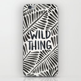 Wild Thing – Black Palette iPhone Skin