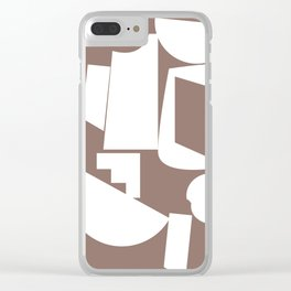 Shape study #17 - Inside Out Collection Clear iPhone Case