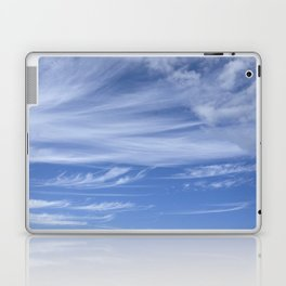 Little wispy clouds Laptop & iPad Skin