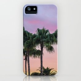 Island Paradise Palm Trees iPhone Case