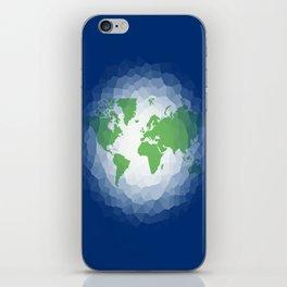 The World in Ocean  iPhone Skin
