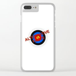 Target Alternative Facts Clear iPhone Case