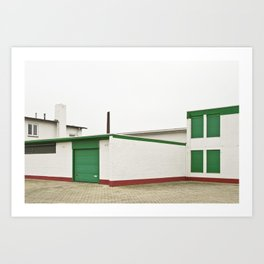 Architecture And Urban Art Art Print