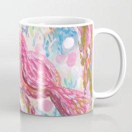 Pink Bird Coffee Mug