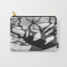 zebra crossing, tree shadow Carry-All Pouch