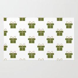 Christmas gift pattern Rug