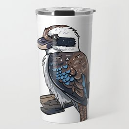 Cute Kookaburra  Travel Mug
