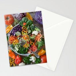 Vegan summer II Stationery Cards
