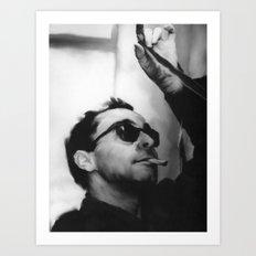 Jean-Luc Godard Art Print