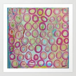 circle.  Art Print