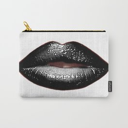 Black Goth Lips SWAK A820 Carry-All Pouch