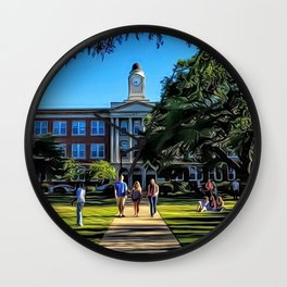 Nelson Hall, Mississippi College, Clinton, Mississippi Wall Clock