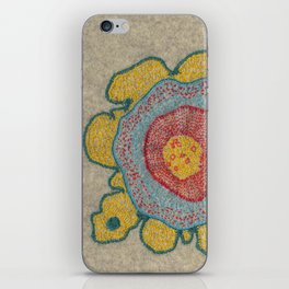 Growing - Pinus 1 - plant cell embroidery iPhone Skin
