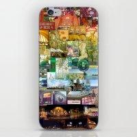 cincinnati iPhone & iPod Skins featuring Cincinnati Spectrum by Stacey Cat