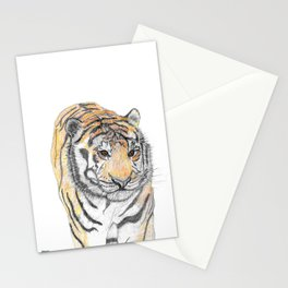 Prowling Tiger Stationery Cards