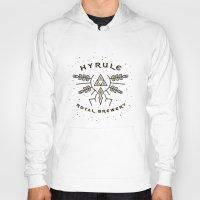 hyrule Hoodies featuring Hyrule Royal Brewery by Tugrul Peker