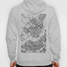 Wilkes-Barre Pennsylvania Map Hoody