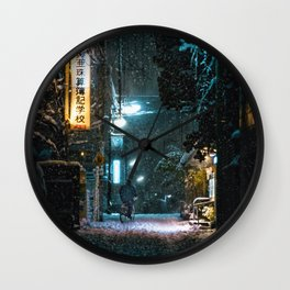 Setagaya Bike Home Wall Clock