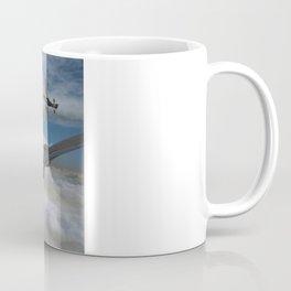 B17 and Fighter escort Coffee Mug