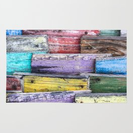 Whimsical Wood Rug