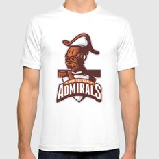 Mon Calamari Admirals Mens Fitted Tee White MEDIUM