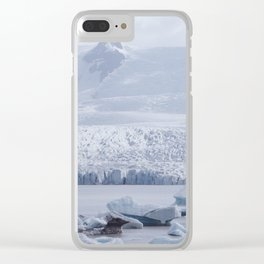 Glacier 02 - Iceland Clear iPhone Case
