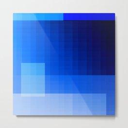 must be blue Metal Print