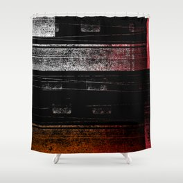 Grunge Chaos Shower Curtain
