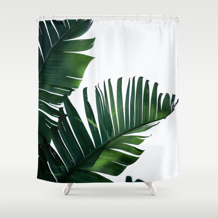 Palm Leaves 16 Shower Curtain