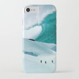 White Wall iPhone Case