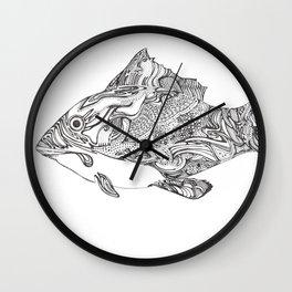 Swishy Fish Wall Clock