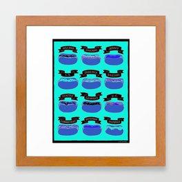 Hot Dogs! Framed Art Print