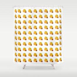 Pixel Taco Shower Curtain